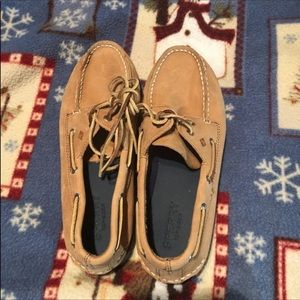 Boys Sperry Topsiders; size 5